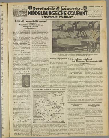 Middelburgsche Courant 1939-10-05