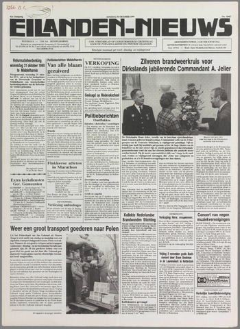 Eilanden-nieuws. Christelijk streekblad op gereformeerde grondslag 1990-10-30