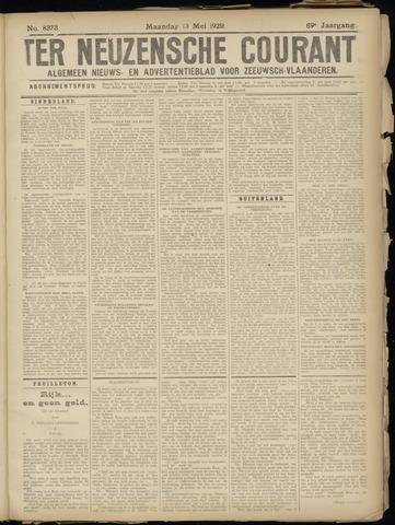 Ter Neuzensche Courant. Algemeen Nieuws- en Advertentieblad voor Zeeuwsch-Vlaanderen / Neuzensche Courant ... (idem) / (Algemeen) nieuws en advertentieblad voor Zeeuwsch-Vlaanderen 1929-05-13
