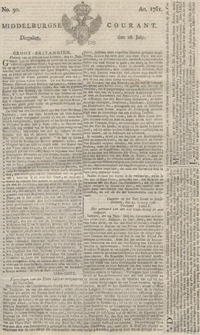 Middelburgsche Courant 1761-07-28