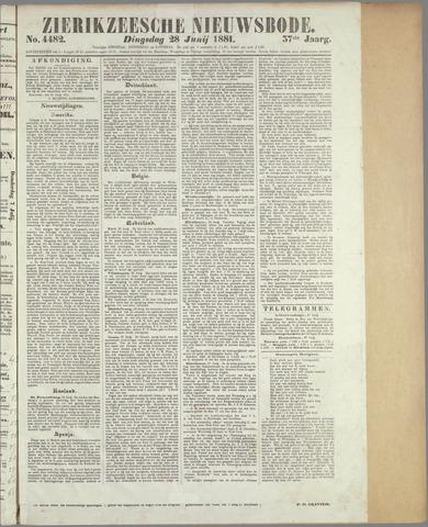 Zierikzeesche Nieuwsbode 1881-06-28