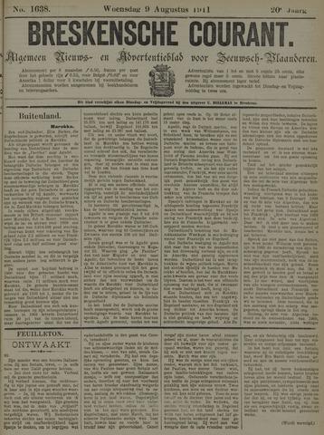 Breskensche Courant 1911-08-09