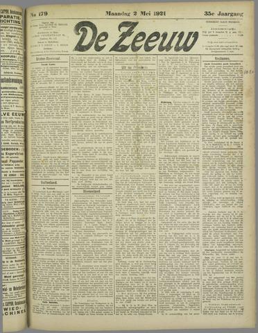 De Zeeuw. Christelijk-historisch nieuwsblad voor Zeeland 1921-05-02