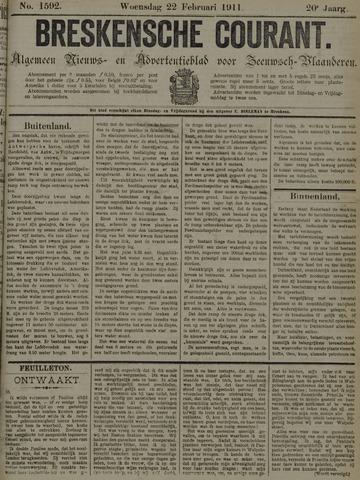 Breskensche Courant 1911-02-22