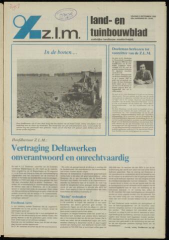 Zeeuwsch landbouwblad ... ZLM land- en tuinbouwblad 1982-09-03