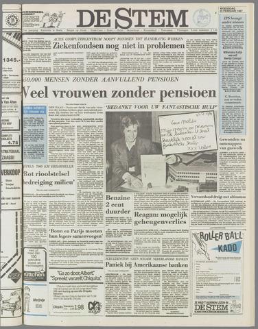 de Stem 1987-02-25