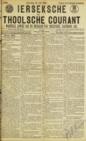 Ierseksche en Thoolsche Courant 1913-07-19