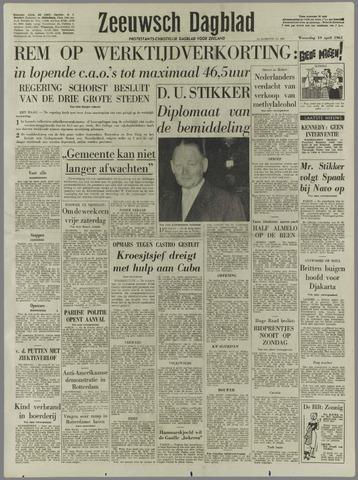Zeeuwsch Dagblad 1961-04-19