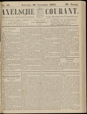 Axelsche Courant 1913-09-20