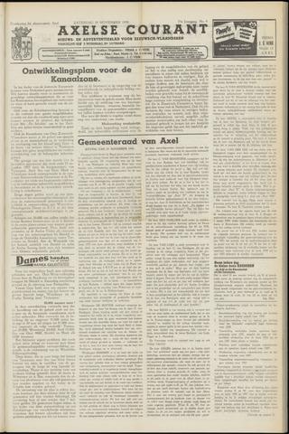 Axelsche Courant 1958-11-29