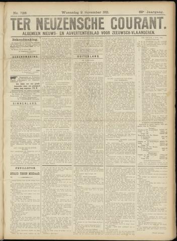 Ter Neuzensche Courant. Algemeen Nieuws- en Advertentieblad voor Zeeuwsch-Vlaanderen / Neuzensche Courant ... (idem) / (Algemeen) nieuws en advertentieblad voor Zeeuwsch-Vlaanderen 1921-11-02
