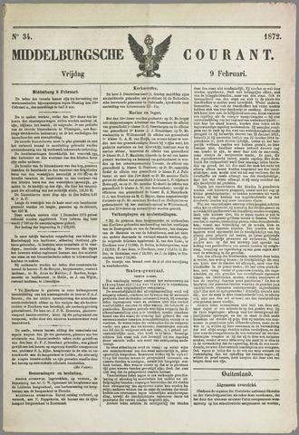 Middelburgsche Courant 1872-02-09