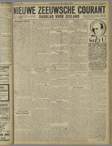 Nieuwe Zeeuwsche Courant 1920-12-09