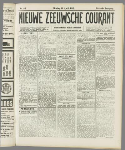 Nieuwe Zeeuwsche Courant 1911-04-11