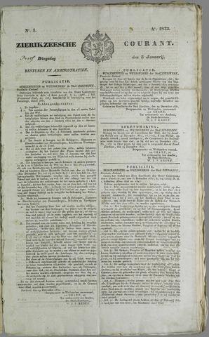 Zierikzeesche Courant 1832