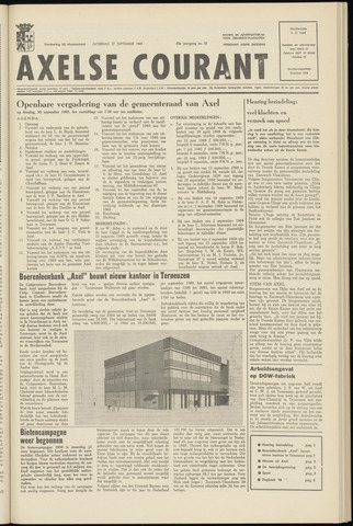 Axelsche Courant 1969-09-27
