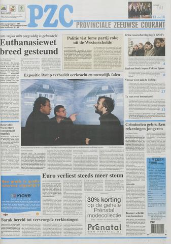Provinciale Zeeuwse Courant 2000-11-29