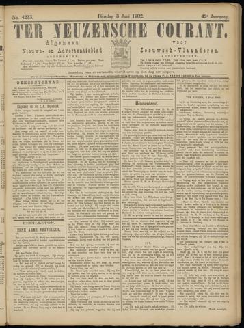 Ter Neuzensche Courant. Algemeen Nieuws- en Advertentieblad voor Zeeuwsch-Vlaanderen / Neuzensche Courant ... (idem) / (Algemeen) nieuws en advertentieblad voor Zeeuwsch-Vlaanderen 1902-06-03