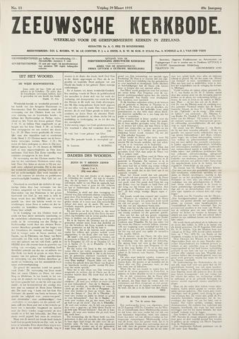Zeeuwsche kerkbode, weekblad gewijd aan de belangen der gereformeerde kerken/ Zeeuwsch kerkblad 1935-03-29