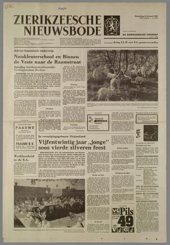 Zierikzeesche Nieuwsbode 1982-02-25