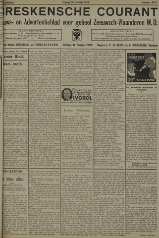 Breskensche Courant 1934-10-26