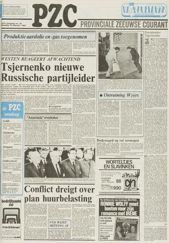Provinciale Zeeuwse Courant 1984-02-14