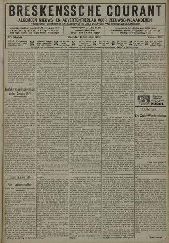 Breskensche Courant 1928-11-21