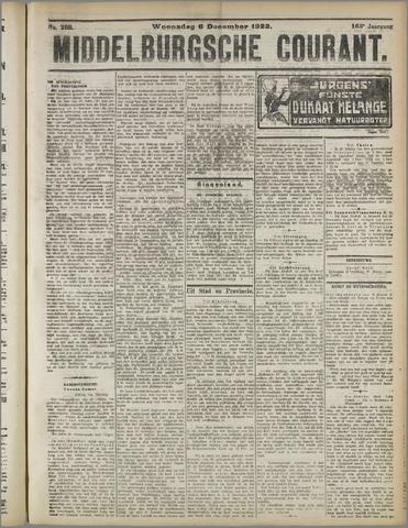Middelburgsche Courant 1922-12-06