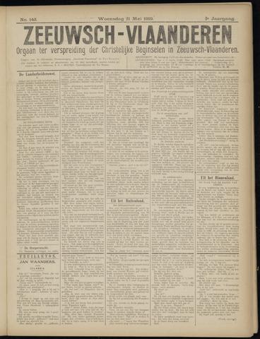 Luctor et Emergo. Antirevolutionair nieuws- en advertentieblad voor Zeeland / Zeeuwsch-Vlaanderen. Orgaan ter verspreiding van de christelijke beginselen in Zeeuwsch-Vlaanderen 1919-05-21