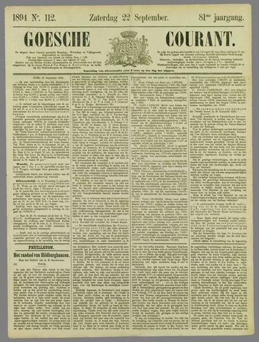 Goessche Courant 1894-09-22