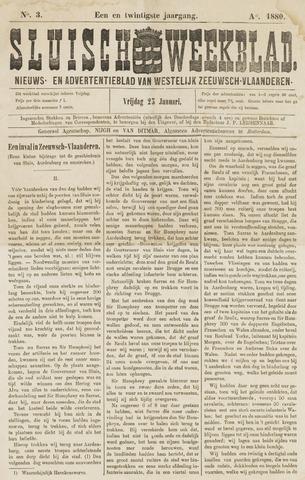 Sluisch Weekblad. Nieuws- en advertentieblad voor Westelijk Zeeuwsch-Vlaanderen 1880