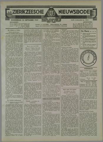 Zierikzeesche Nieuwsbode 1937-09-23