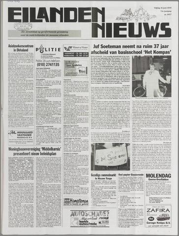 Eilanden-nieuws. Christelijk streekblad op gereformeerde grondslag 2000-06-30
