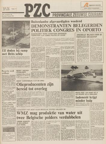 Provinciale Zeeuwse Courant 1975-01-27