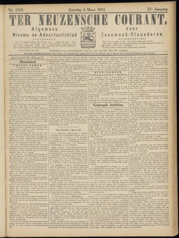 Ter Neuzensche Courant. Algemeen Nieuws- en Advertentieblad voor Zeeuwsch-Vlaanderen / Neuzensche Courant ... (idem) / (Algemeen) nieuws en advertentieblad voor Zeeuwsch-Vlaanderen 1911-03-04