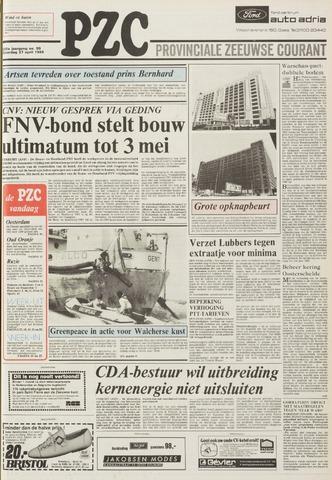 Provinciale Zeeuwse Courant 1985-04-27