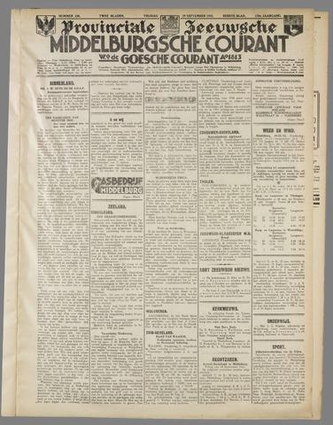 Middelburgsche Courant 1933-09-29