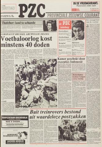Provinciale Zeeuwse Courant 1985-05-30
