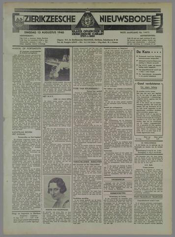 Zierikzeesche Nieuwsbode 1940-08-13