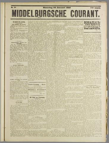 Middelburgsche Courant 1927-01-24