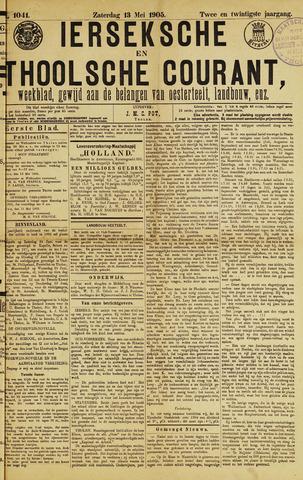 Ierseksche en Thoolsche Courant 1905-05-13