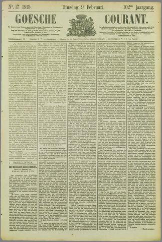 Goessche Courant 1915-02-09