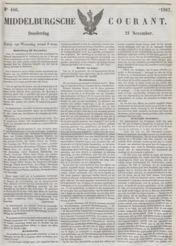 Middelburgsche Courant 1867-11-21