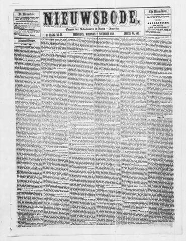 Sheboygan Nieuwsbode 1859-11-02