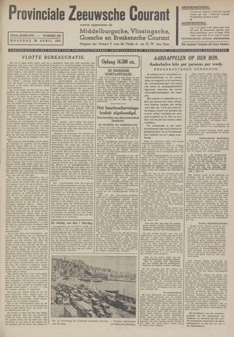 Provinciale Zeeuwse Courant 1941-04-28