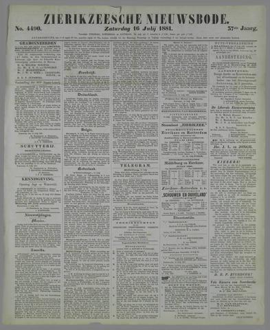 Zierikzeesche Nieuwsbode 1881-07-16