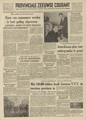 Provinciale Zeeuwse Courant 1960-03-17