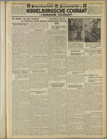 Middelburgsche Courant 1939-11-22