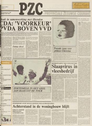 Provinciale Zeeuwse Courant 1979-07-07