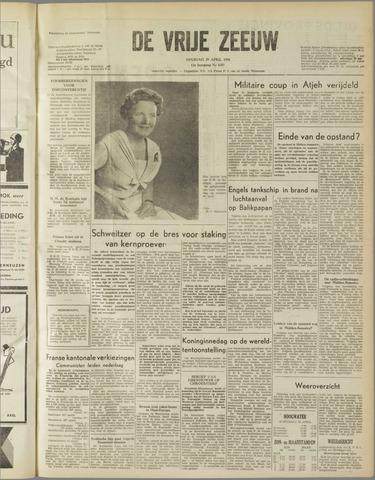 de Vrije Zeeuw 1958-04-29